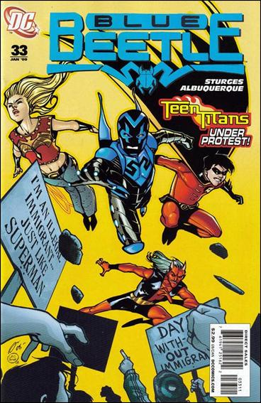 Blue Beetle (2006) 33-A by DC