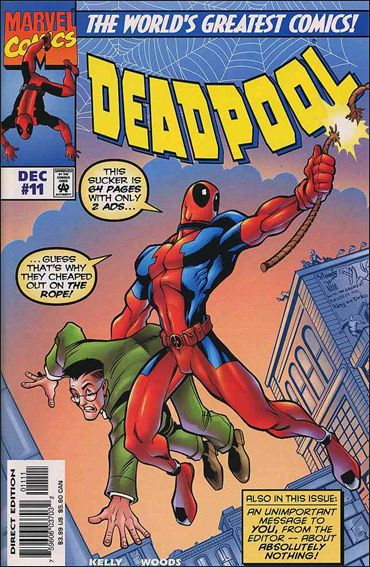 Deadpool (1997) 11-A by Marvel
