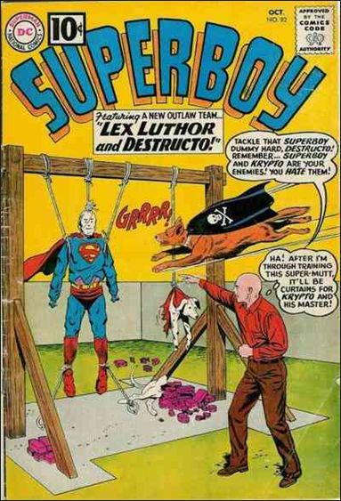Superboy (1949) 92-A by DC