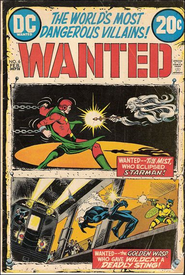 Wanted, the World's Most Dangerous Villains 6-A by DC