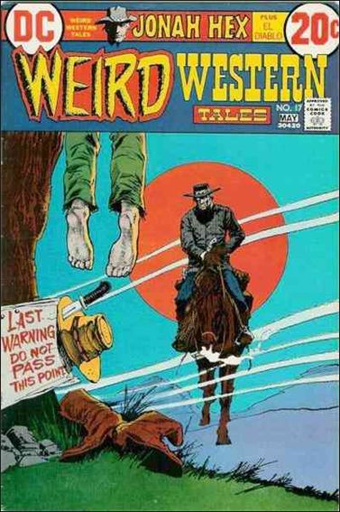 Weird Western Tales (1972) 17-A by DC