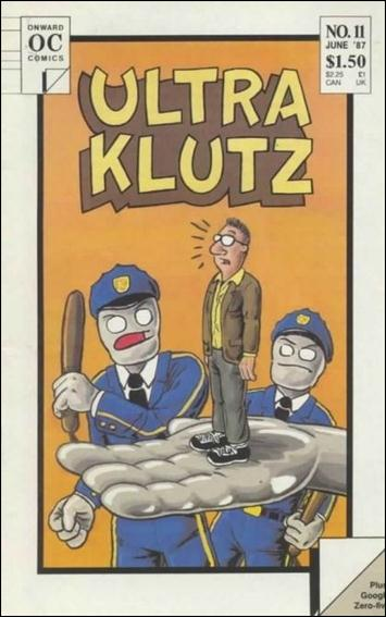 Ultra Klutz (1986) 11-A by Onward Comics