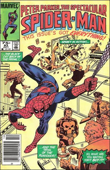 Spectacular Spider-Man (1976) 83-B by Marvel