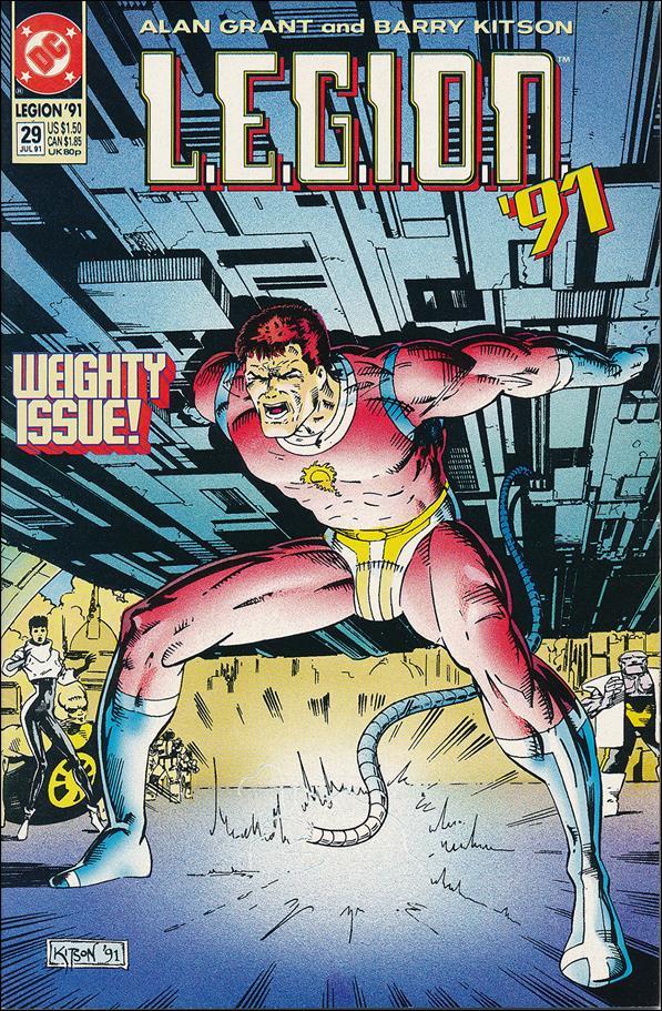 L.E.G.I.O.N. 29-A by DC