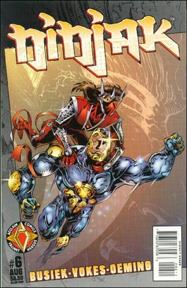 Ninjak (1997) 6-A by Acclaim