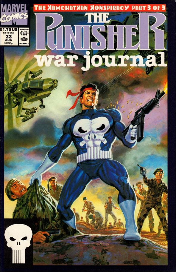 Punisher War Journal (1988) 33-A by Marvel