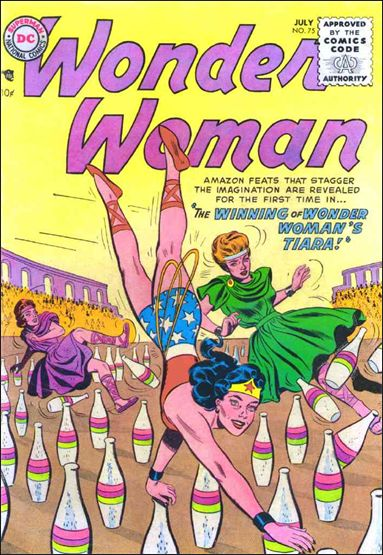Wonder Woman (1942) 75-A by DC