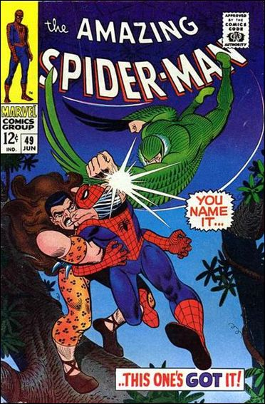 Amazing Spider-Man (1963) 49-A by Marvel