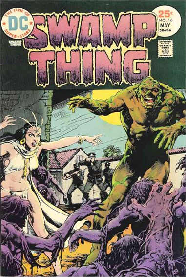 Swamp Thing (1972) 16-A by DC