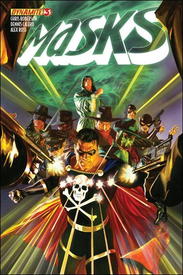 Masks 3-A by Dynamite Entertainment