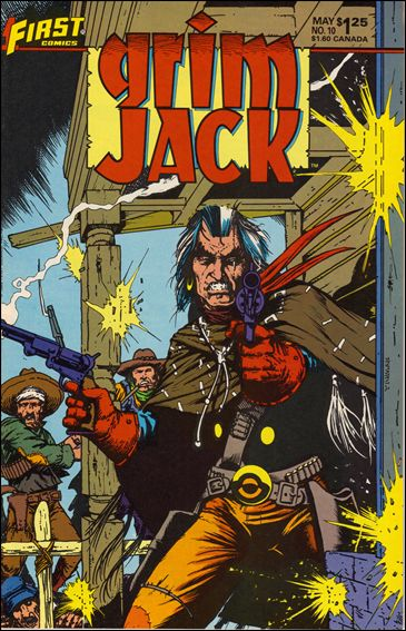 Grimjack 10-A by First