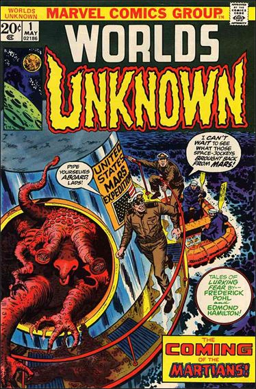 Worlds Unknown 1-A by Marvel