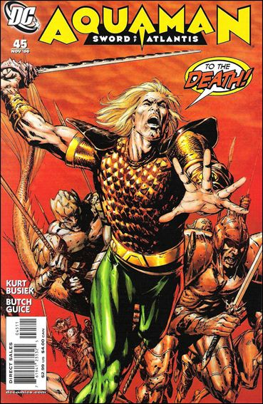 Aquaman: Sword of Atlantis 45-A by DC