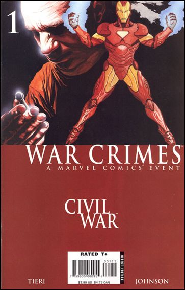 Civil War: War Crimes 1-A by Marvel