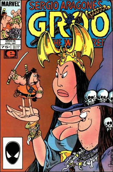 Sergio Aragones Groo the Wanderer 26-A by Epic