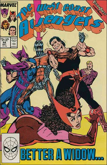 West Coast Avengers (1985) 44-A by Marvel