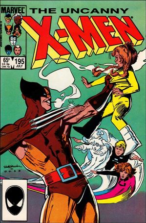 Uncanny X-Men (1981) 195-A