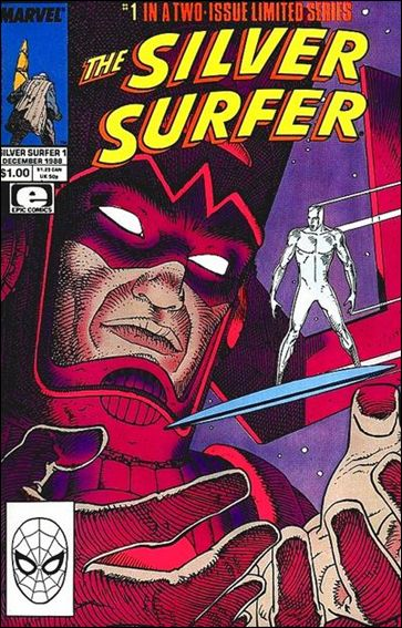 Silver Surfer (1988) 1-A by Epic