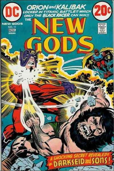 New Gods (1971) 11-A by DC