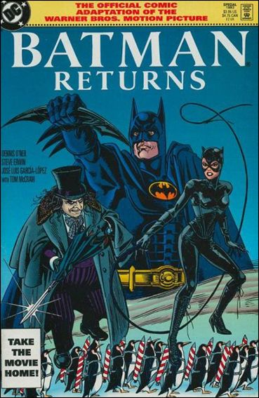 Batman Returns: The Official Comic Adaptation of the Warner Bros. Motion Picture 1-B by DC
