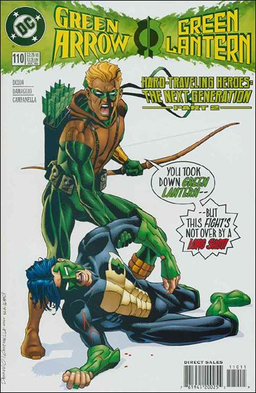 Green Arrow (1988) 110-A by DC