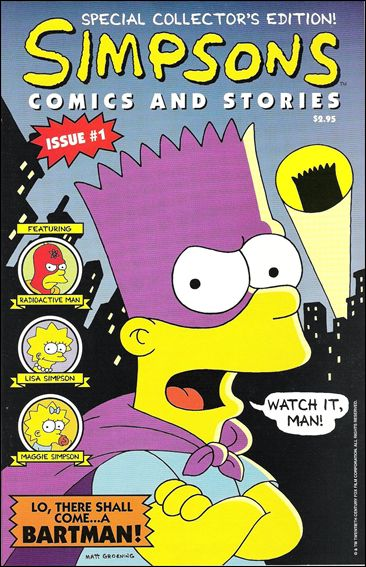 Simpsons Comics and Stories 1-A by Welsh Publishing Group