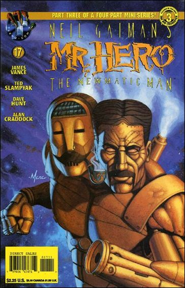 Neil Gaiman's Mr. Hero: The Newmatic Man (1995) 17-A by Tekno•Comix