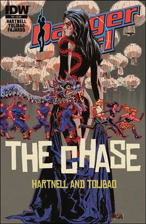 Danger Girl: The Chase 4-A