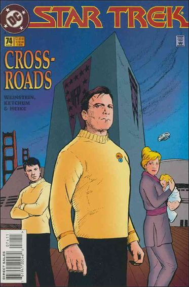 Star Trek (1989) 74-A by DC