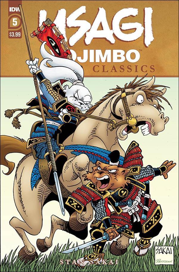 Usagi Yojimbo Color Classics 5-A by IDW