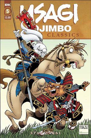Usagi Yojimbo Color Classics 5-A