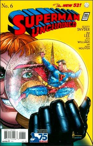 Superman Unchained 6-K by DC