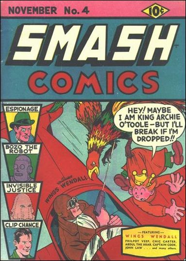 Smash Comics (1939) 4-A by Quality