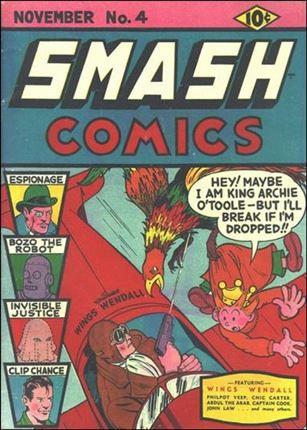 Smash Comics (1939) 4-A