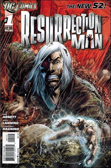 Resurrection Man (2011) 1-B by DC
