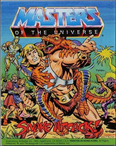 Masters of the Universe (1983) 5.12-A by Mattel