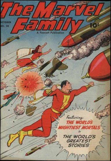 Marvel Family 28-A by Fawcett