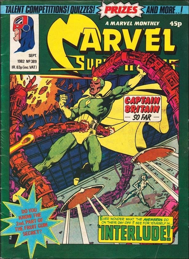Marvel Superheroes (UK) 389-A by Marvel UK