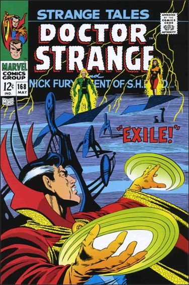 Strange Tales (1951) 168-A by Marvel