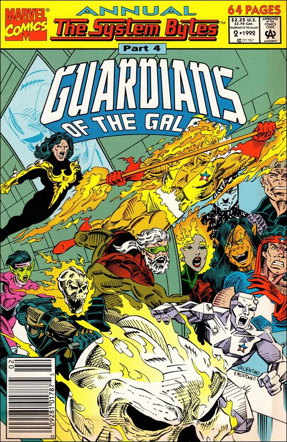 Guardians of the Galaxy Annual (1991) 2-A by Marvel