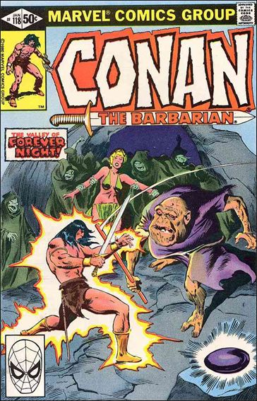 Conan the Barbarian (1970) 118-A by Marvel