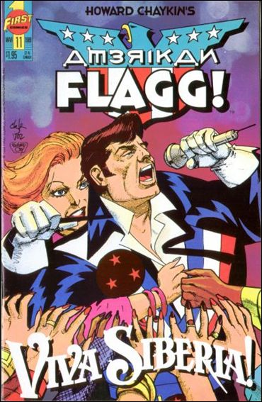 American Flagg! (1988) 11-A by First