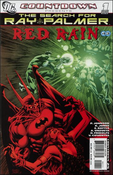 Countdown Presents: The Search for Ray Palmer: Red Rain 1-A by DC