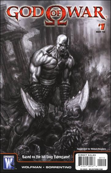 God of War 1-B by WildStorm