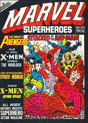 Marvel Superheroes (UK) 355-A