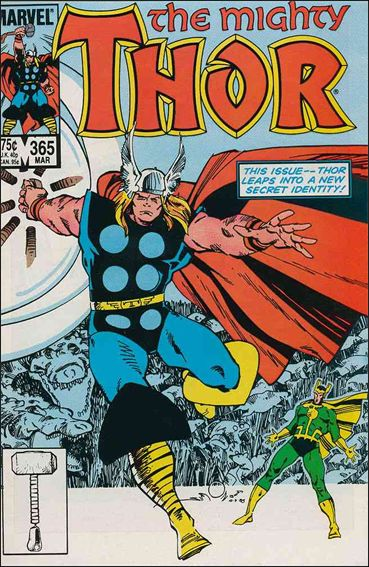 Thor (1966) 365-A by Marvel