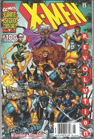 X-Men (1991) 100-A by Marvel