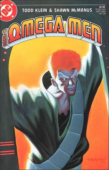 Omega Men (1983) 30-A by DC
