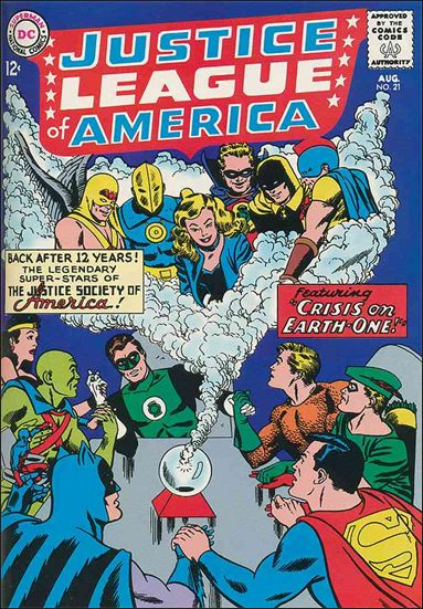 Justice League of America (1960) 21-A by DC