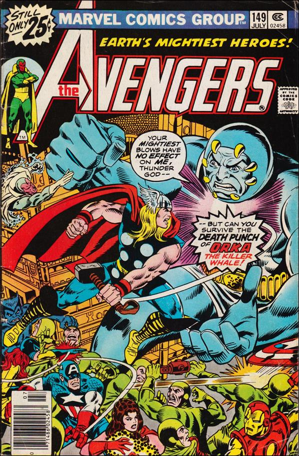 Avengers (1963) 149-A by Marvel